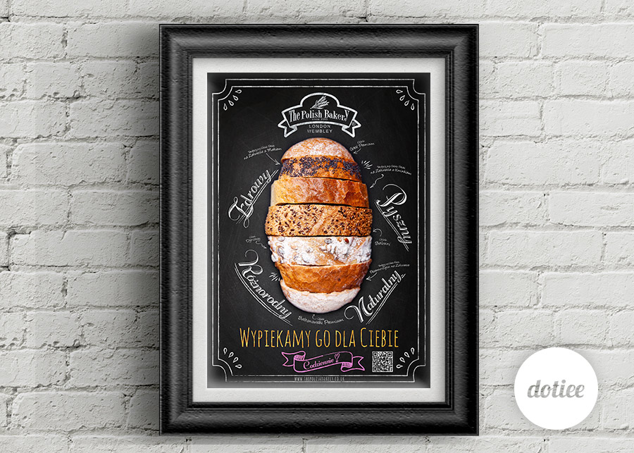 Dotiee_the_polish_bakery_poster_blackboard_tablica